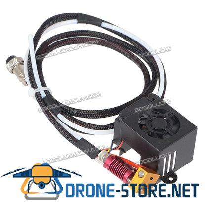 0.4mm Nozzle MK8 Extruder Hot End Kit for Creality CR-10 3D Printer Accessories