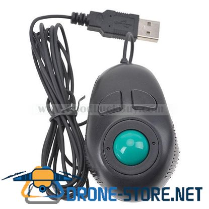 4D USB Mini Track Trackball Mouse Mice Finger Hand Held