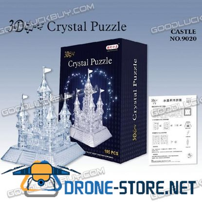 3D Crystal Furnish Castle Jigsaw Puzzle IQ Gadget 105pcs