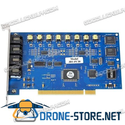 8 Channel PCI Telephone Voice Recorder Card JB1-PCI8