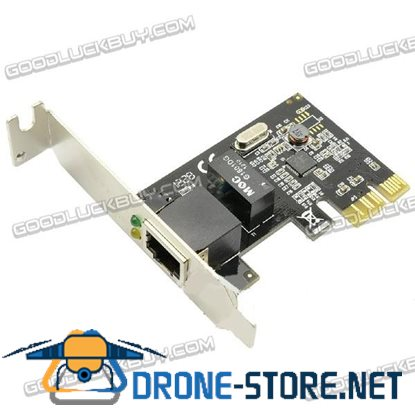 Syba Gigabit Ethernet PCI-E PCI-Express Card RTL8111E Chip