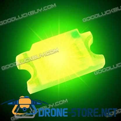 100 Pcs SMD SMT 0603 Super Bright Green LED Lamp Light