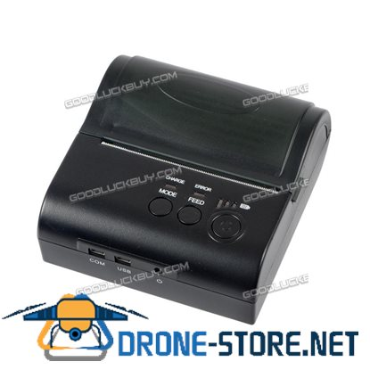 POS-8001LN Mini 80mm Thermal Receipt Bill Printer USB RS-232 Bluetooth