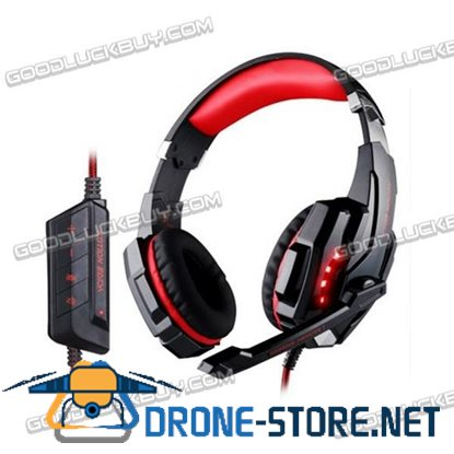 7.1 Surround KOTION EACH G9000 Pro Gaming Headset Headphone with Mic for PC PS4