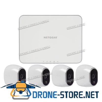 NETGEAR VMS3230 Arlo Wire-Free HD Camera Security System with 4 HD Cameras