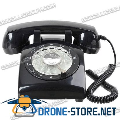 Classic Land Line Telephone (Black)