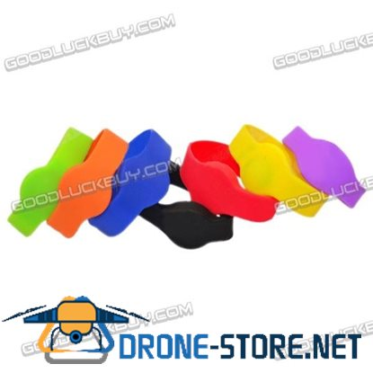 125Khz TK4100 RFID Silicone Waterproof Wristband Watch Bracelet