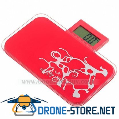 "1.14"" LCD Ultra Small Mini Travel Ultra Portable Electronic Personal Scale Red"