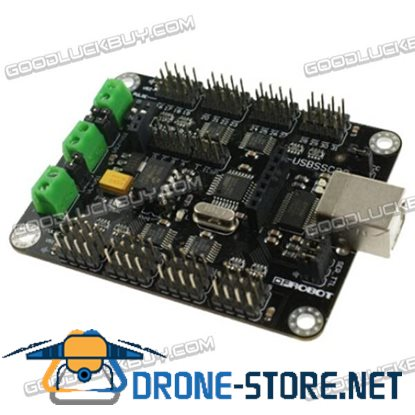 DFRobot USB32 Channel Servo Motor Controller Panel with 256K Memory Card