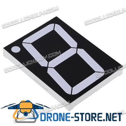 "1 X 5"" 7-Segment Super 2 LED Display CA/CC"
