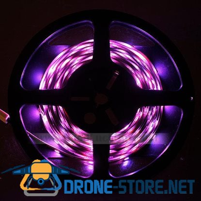10M MultiColors Flexible RGB SMD 5050 300 LED Strip Light Lamp w/Remote+Power
