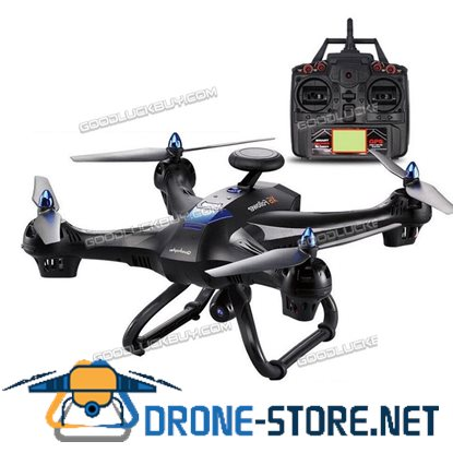 Global Drone X183 With WiFi FPV 1080P Camera Dual GPS Brushed Quadcopter Black
