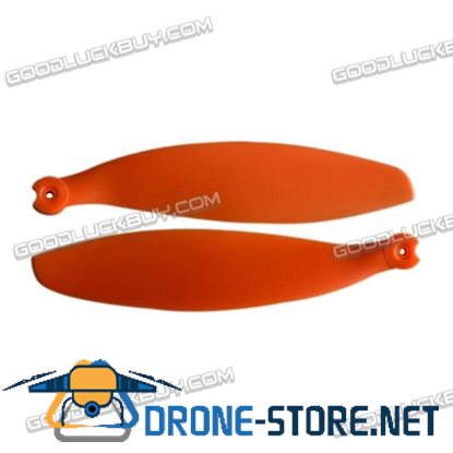 "12x4.7"" 12x4.7 Inch 1247 Folding Propeller Blade for RC Powered Airplane Glider Orange"