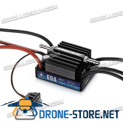 Hobbywing Seaking 60A V3 Electronic Speed Controller ESC for RC Boats