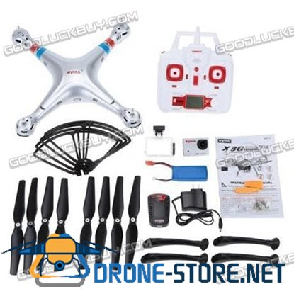 Syma X8G 2.4G 4CH with HD 8.0MP Wide Angle Camera 3D Roll RC Drone Quadcopter