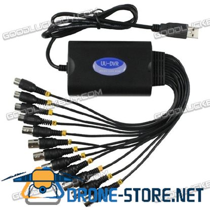 8 CH/Channel 220FPS H.264 Camera Usb DVR Video Capture Card