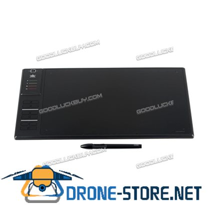 """Huion Giano WH1409 13.8x6"""" Wireless Digital Graphic Drawing Pen Tablet Large Active Area"""