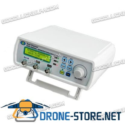 MHS-3200P 6M 0-80KHz Dual Channel Full Digital Control Function Signal Generator DDS Signal Source Frequency Meter