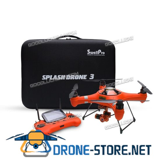 Swellpro Splash Drone 3 FPV Drone Waterproof with 4K HD Camera Gimbal Case AUTO