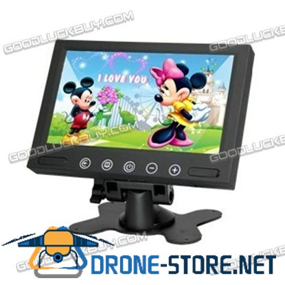 """7"""" TFT LCD Color Video Car Rearview Headrest Monitor 1024*768 DVD VCR VCD Monitor"""