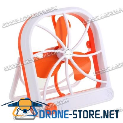 Adjustable PC USB Cooler Cooling Desk Top Fan Battery Operated