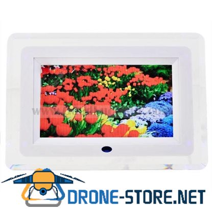 "7"" LCD Digital Photo Frame AV Output Picture Video Music Player HF506"