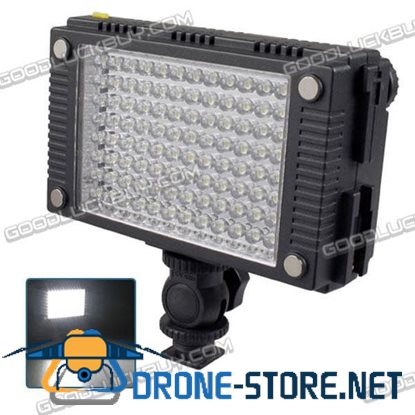 Video Light 96 LED DV Camcorder Lighting with Diffuser Z96