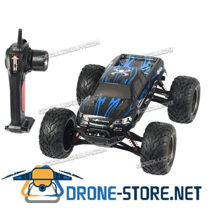 1/12 High Speed Bigfoot 2.4G Off Road RC Car Climing Racing Remote Control Truck Blue