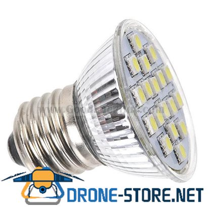 E27 18 SMD 5050 LED White Light Bulb Spotlight 220V