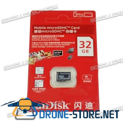 32GB SanDisk Mobile Micro SDHC SD Memory Card for GoPro Hero3 Action Camera