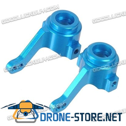 02014 Upgrade Aluminum Front Steering Hub for 1:10 Scale HSP 102011 RC Spare Part 2pcs