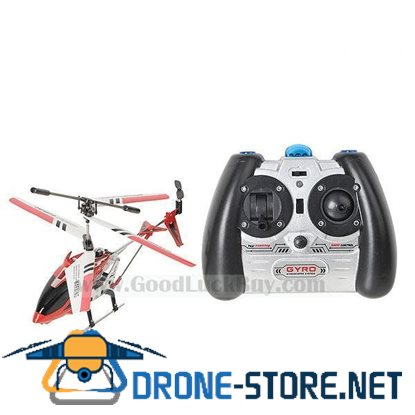 SYMA S107 Mini 3 CH Channel Metal Infrared RC Helicopter Red