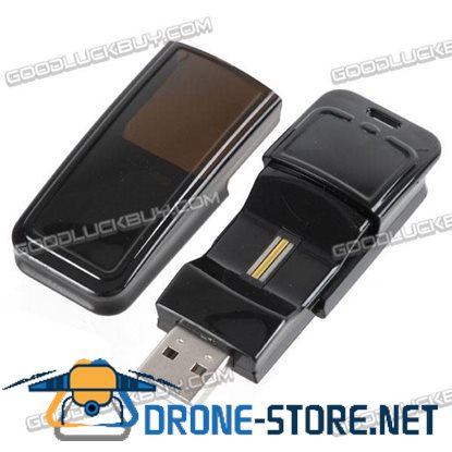 Andvan AFU-816 16GB USB 2.0 Fingerprint Security Lock Flash Jump Drive