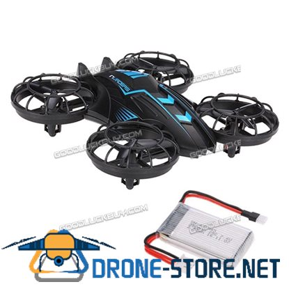 JXD 515W Altitude Hold Drone 2.4G 4CH Quadcopter w/ 0.3MP Camera + One Extra Battery Blue