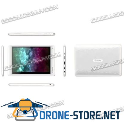 7 Inch Ramos W2 8GB Dual Core Android 4.0 Tablet PC Wifi Webcam OTG 1080P HD-White