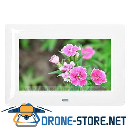 "7"" LCD Digital Photo Frame AV Output Picture Video Music Player"