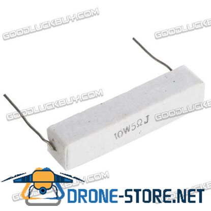 10W Cement Resistors Wire-wound Resistor 10-Pack
