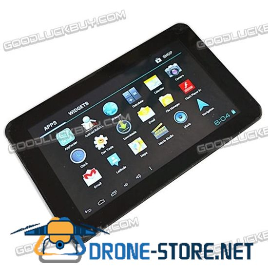 """B12 7"""" A13 Cortex-A8 1.2GHz Capacitive Android 4.0 Tablet w/ WiFi / External 3G / Camera"""