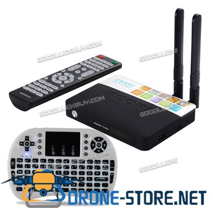 3G/32G S912 TV BOX Android 6.0 Add-ons 17.0 Fully Loaded Octa Core+ White Keyboard