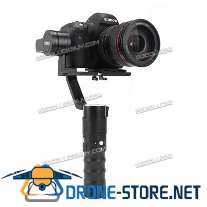 Beholder DS2  Handheld Stabilizer three-axis gyro Gimbal for DSLR Camera support weight 1.8kg