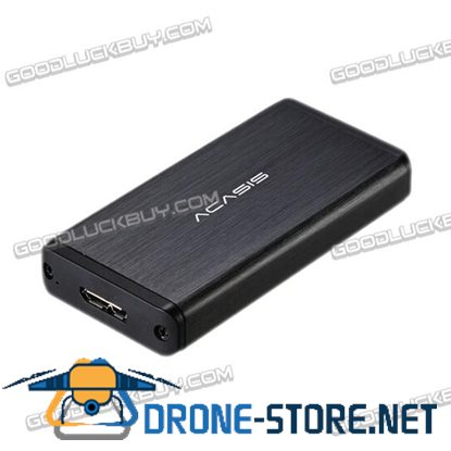 Acasis FA-2283 mSATA to USB 3.0 SSD Enclosure Adapter Case for 27*50mm Hard drive