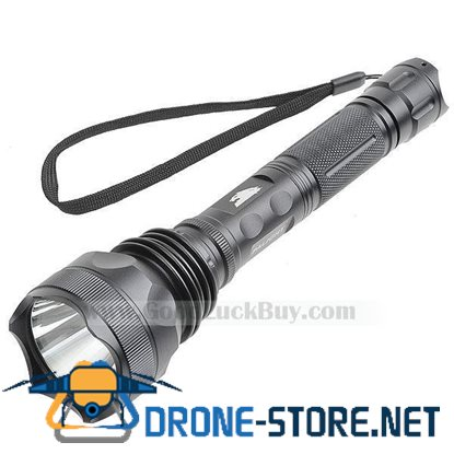 High Power Cree LED Light Flashlight Super Bright Lamp w/Battery + Charger