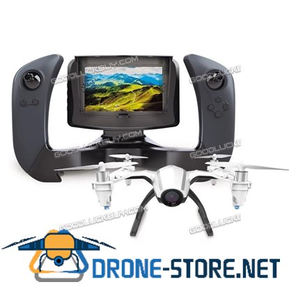 "UDI U28-1 FPV Quadcopter Drone with HD Camera 4"" LCD Display Screen and Battery"