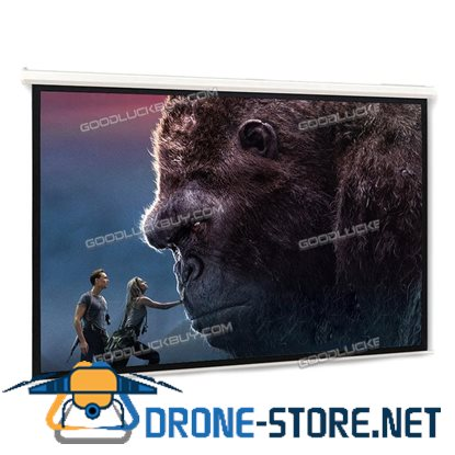 """120"""" Electric Projector Projection Screen Motorised Remote Home Cinema PURE 16:9"""