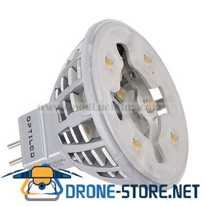 MR16 12x0.5W 12 LED White Light Spotlight Lamp Bulb 12V