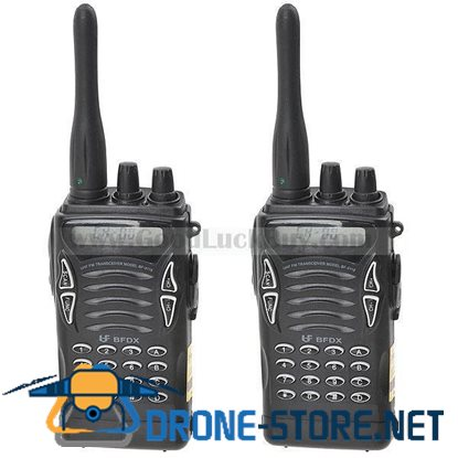 2 x Transceiver Walkie Talkie & Interphone Intercom UHF FM 350-470MHz