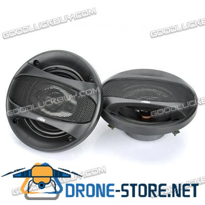 "4"" 200W DIY Modified Speakers for Car Stereo VO-1093B Black"