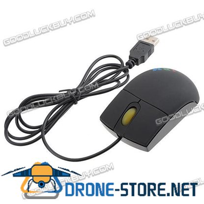 IBM Optical Mouse USB 3 Button for PC & laptop Noteboolk 800dpi