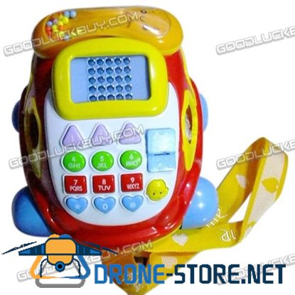 Baby Toy Digital Car-like Phone with LED Display