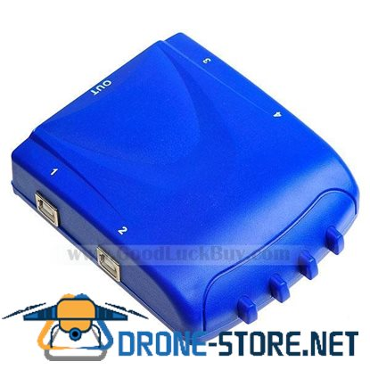 4 Ports USB B Type to USB A Type Sharing Selecting Switch